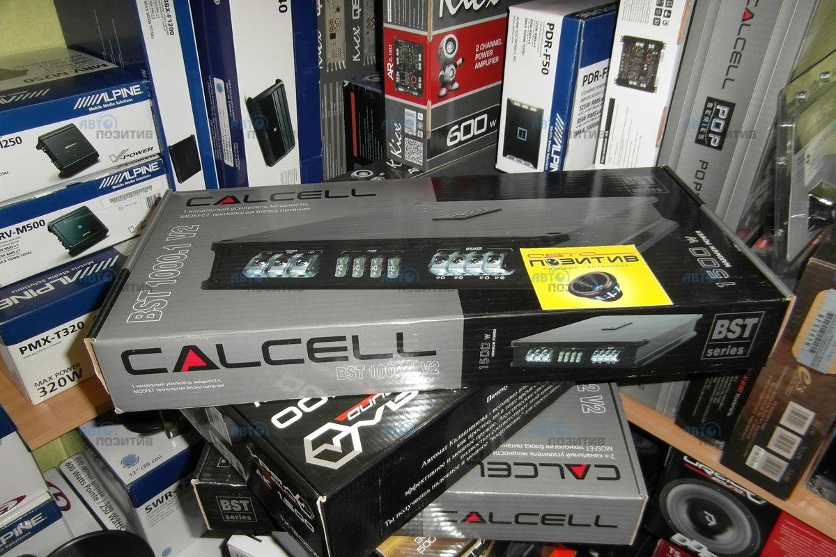 усилитель calcell bst 1000.1 схема подключение
