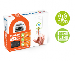 StarLine A93 2CAN+2LIN (2CAN+LIN) GSM ECO SLAVE » Автомобильные сигнализации